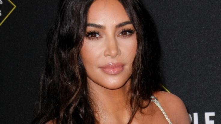 Kim Kardashian hat nur anscheinend nichts an. (Foto)