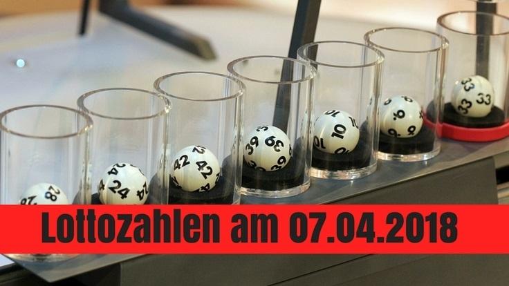 Lottozahlen am 07.04.2018: Gewinnzahlen, Jackpot und Quoten beim Lotto am Samstag.