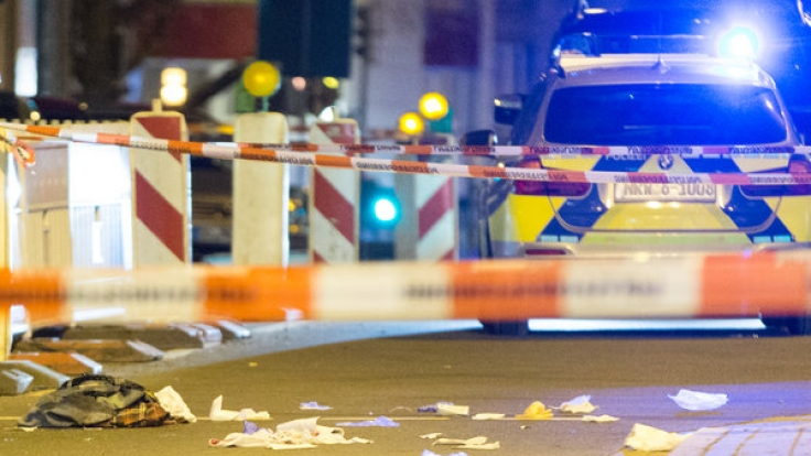 Der Tatort, nachdem die Schüsse auf Mohamed K. gefallen waren.