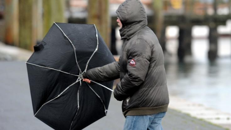Die letzte Januar-Woche 2020 wird von Regen, Sturm und Gewittern eingeläutet.