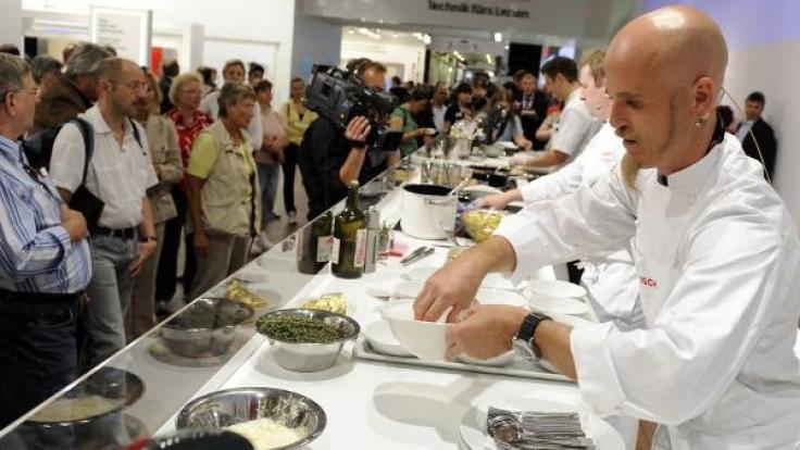 Ralf Zacherl gehört zu den bekanntesten Köchen Deutschlands. (Foto)
