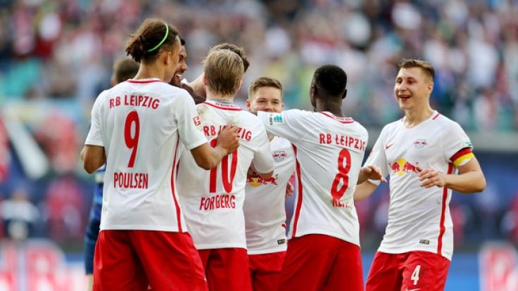 RB Leipzig liegt vor dem Spiel gegen Mainz 05 souverän auf Platz zwei. (Foto)