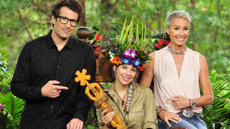 Jenny Frankhauser wurde 2018 zur Dschungelkönigin bei