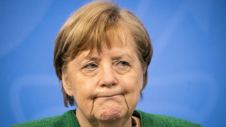 Merkel und die Minister trafen sich am Montag um den Oster-Lockdown zu besprechen.