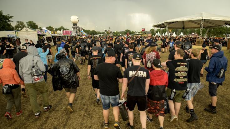 Das Festivalgelände beim Wacken 2019 musste teilweise geräumt werden. (Foto)