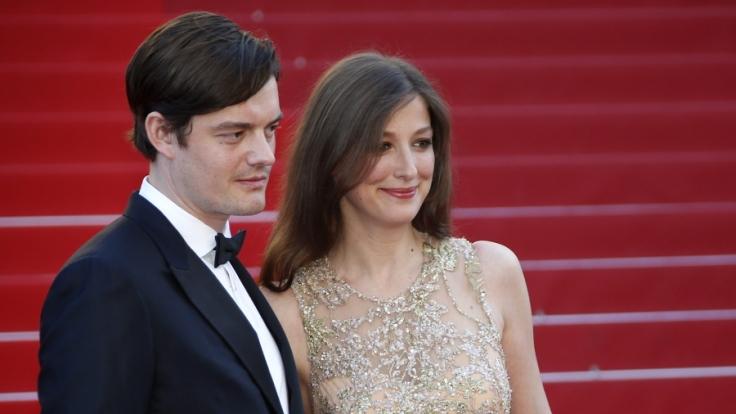 Alexandra Maria Lara mit ihrem Mann Sam Riley. (Foto)