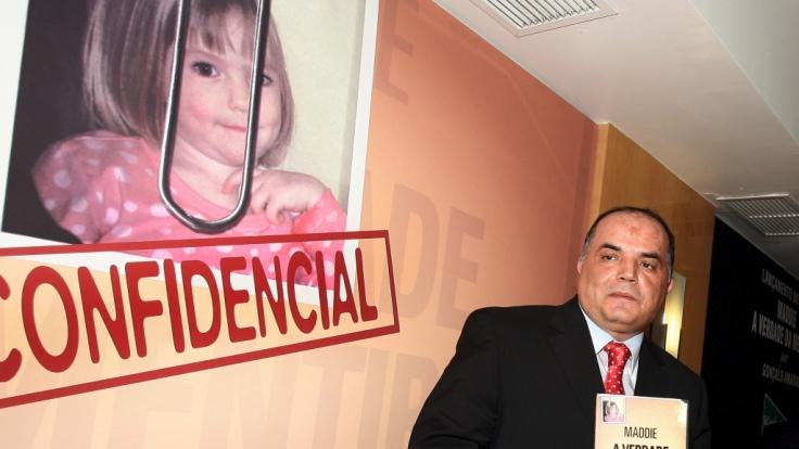 """Goncalo Amaral schrieb das Buch """"Maddie, The Truth of the Lie"""" (Foto)"""