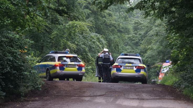 In der Nähe von Steinenbronn ist ein Flugzeug in einem Waldgebiet abgestürzt. (Foto)