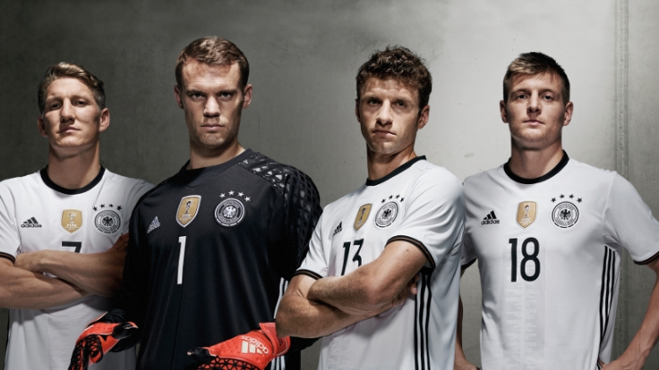 So sehen die Deutschland-Trikots zu dieser EM aus. (Foto)
