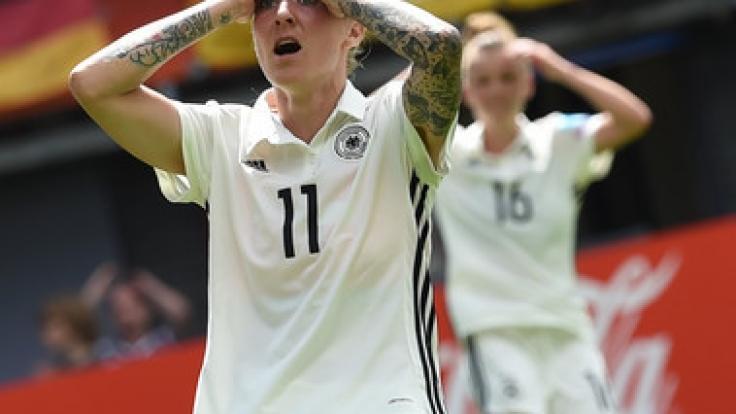 Deutschland scheitert im EM-Viertelfinale gegen Dänemark.