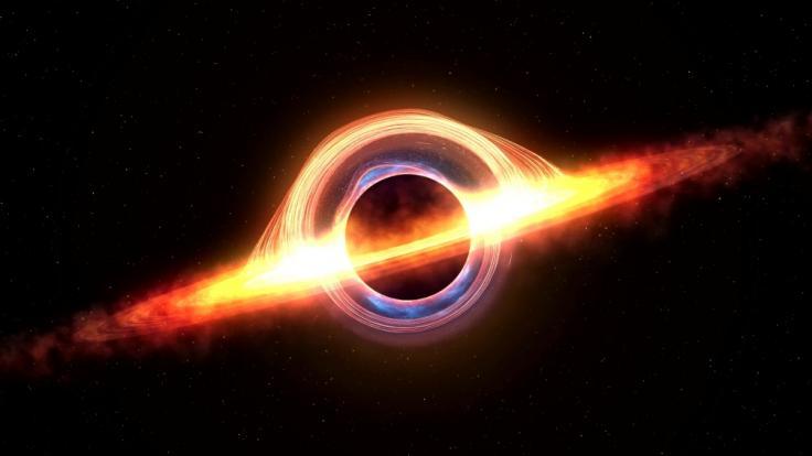 Ein Forscherteam untersuchte die Möglichkeit der Energienutzung aus Schwarzen Löchern. Die Wissenschaftler glauben, dass Aliens die Technologie längst anwenden. (Foto)