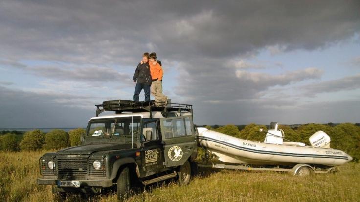 Usedom hat mehr als Strand  Sonne zu bieten - etwa abenteurliche Ausflüge per Jeep ins Achterland. (Foto)