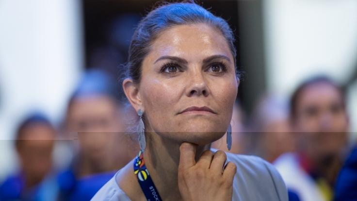 Prinzessin Victoria von Schweden ließ ihren Tränen bei einem öffentlichen Termin freien Lauf. (Foto)