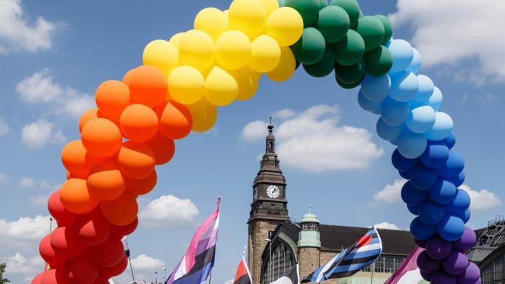 Der Christopher Street Day in Hamburg kann wegen der Coronavirus-Pandemie 2020 nicht wie gewohnt stattfinden. (Foto)