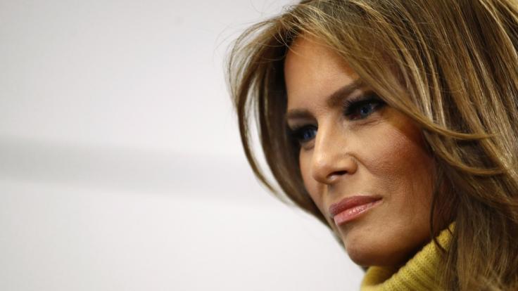 First Lady sucht offenbar in Mar-a-Lago Zuflucht vor den Augen der Öffentlichkeit. (Foto)