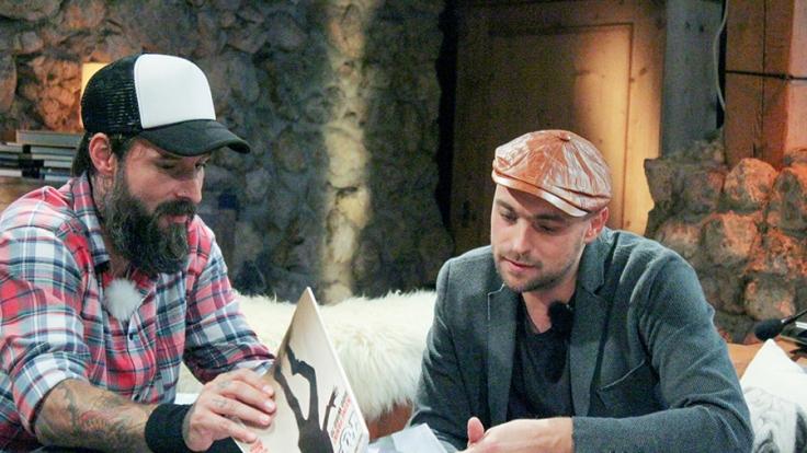 Daniel Wirtz (l.) und Max Mutzke bleibt nur eine Nacht, um einen Song komplett neu zu arrangieren.
