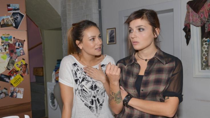 GZSZ-Vorschau: Jasmin hat Annis Vertrauen missbraucht. Anni ist stinksauer. Können sich die beiden wieder zusammenraufen? (Foto)