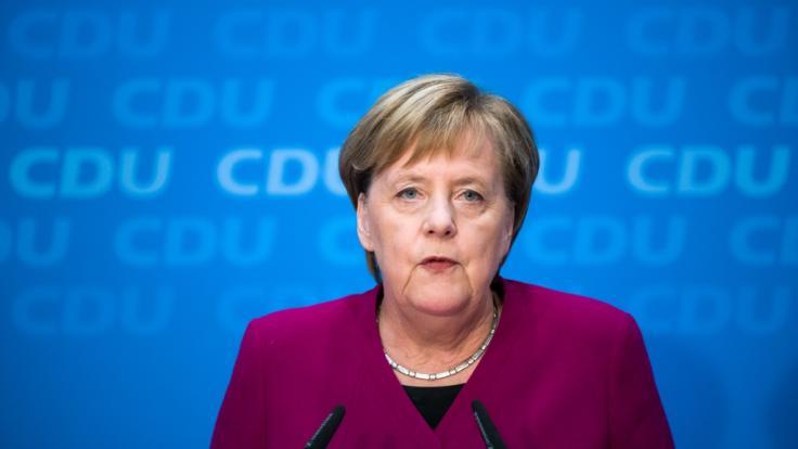 Planten Verschwörer Angela Merkels Sturz? (Foto)