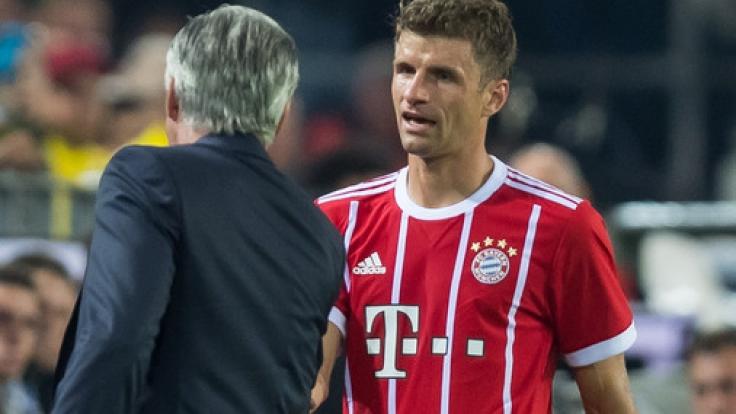 Thomas Müller muss im Spiel gegen Hoffenheim auf den Platz.