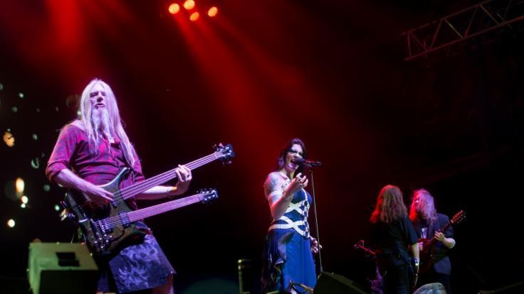 Marco Hietala (li.) verkündete jetzt auf Facebook, dass er Nightwish verlässt.