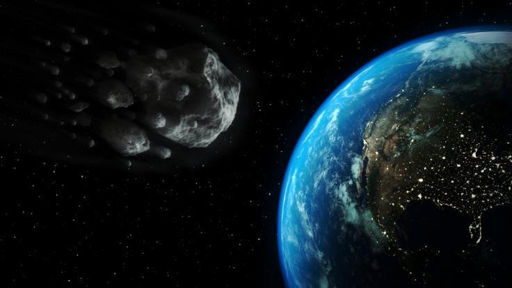 In wenigen Wochen schrammt ein Asteroid extrem nah an der Erde vorbei. (Foto)