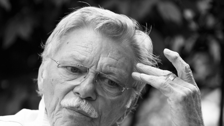 Der Schauspieler Uwe Friedrichsen starb in Hamburg im Alter von 81 Jahren an einem Hirntumor im Beisein seiner Frau Ute Papst. (Foto)