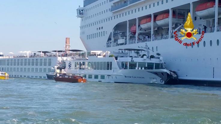 In Venedig kam es zu einem Bootsunglück. (Foto)