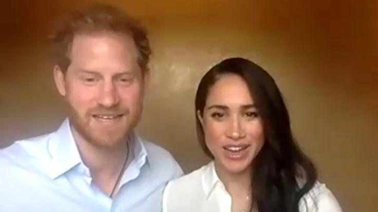 Buckingham-Palast: Prinz Harry und Meghan erklären finalen Rückzug