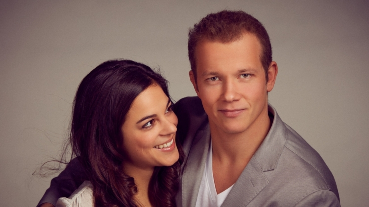 Fabian Hambüchen und seine Freundin Marcia Ev. (Foto)