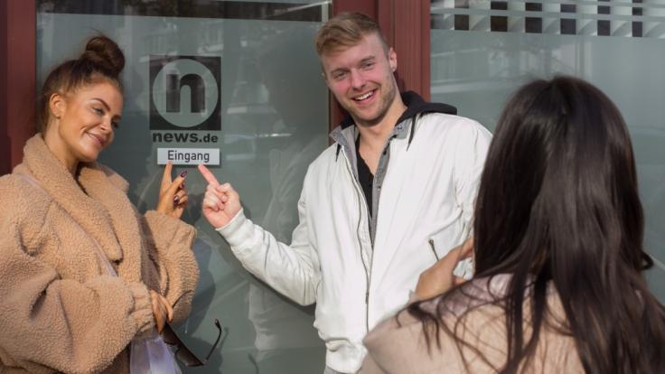 Janine Pink und Dario Kolodiczyk im Interview bei news.de. (Foto)