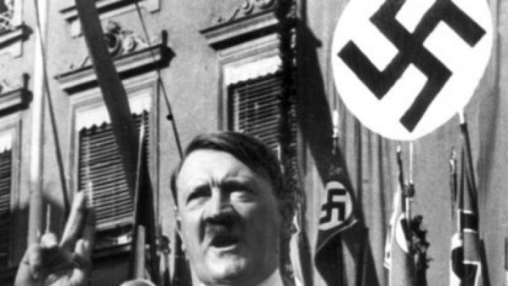 Das Hakenkreuz war ein Symbol der Nazis.