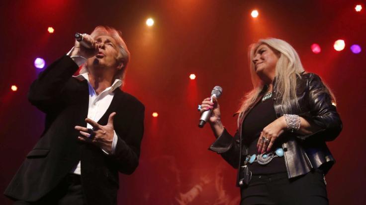 Dominic Grant und Frau Julie Forsyth im Jahr 2013 bei einem Konzert in den Niederlanden. (Foto)