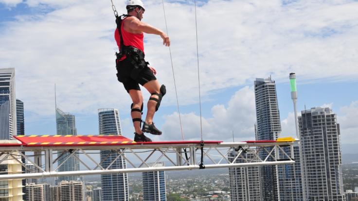 Der Yotta balanciert hoch über Australien... (Foto)