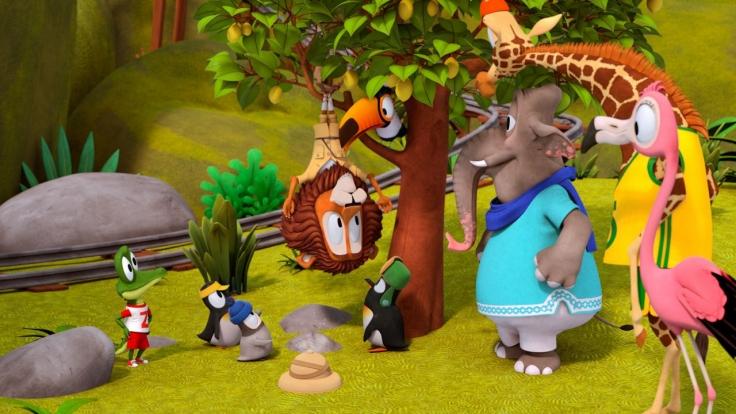 Zacki und die Zoobande bei KiKA