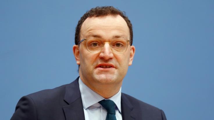 Jens Spahn (CDU), Bundesminister für Gesundheit. (Foto)