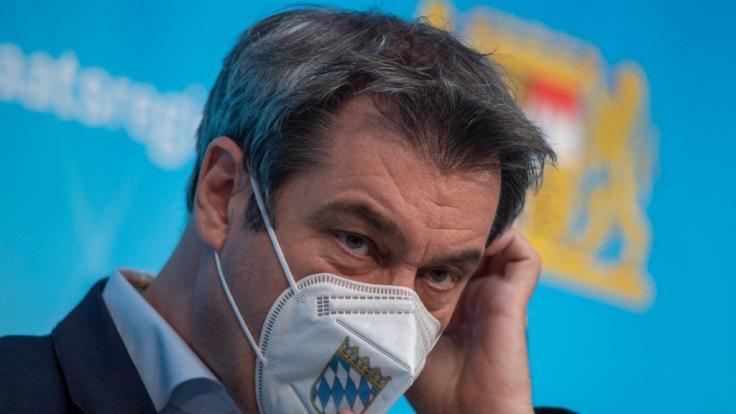 Bayerns Ministerpräsident Markus Söder sprach sich im ZDF-Morgenmagazin und bei Markus Lanz für einen konsequenten Lockdown aus. (Foto)