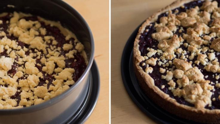 Nach einer knappen Stunde steht mit BACK'O'FUNNY ein leckerer Kuchen auf den Tisch. (Foto)