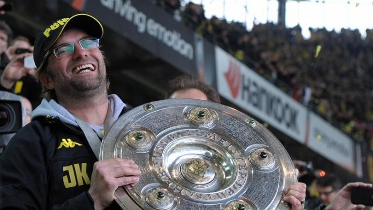 Jürgen Klopp schwärmt schon vom Pokalfinale und will den Titel zum zweiten Mal mit dem BVB gewinnen. (Foto)