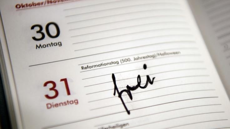 """Das Wort """"frei"""" wird am 31. Oktober in diesem Jahr in mehreren deutschen Bundesländern stehen. (Foto)"""