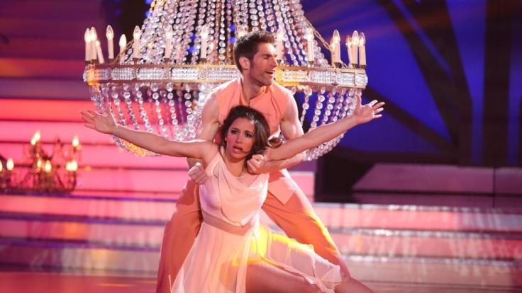 """Enissa Amani und Christian Polanc haben im Halbfinale von """"Let's Dance"""" 2015 ausgetanzt. (Foto)"""