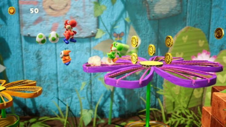 Yoshi hüpft ab März auf der Switch durch knallbunte Level!