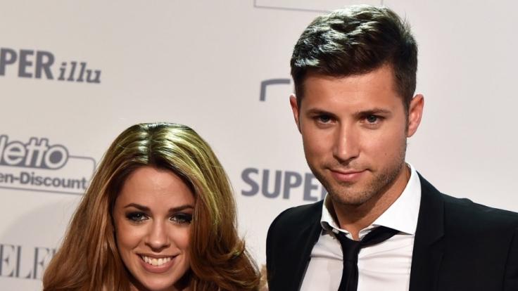 Vanessa Mai und ihr Verlobter und Manager Andreas Ferber.