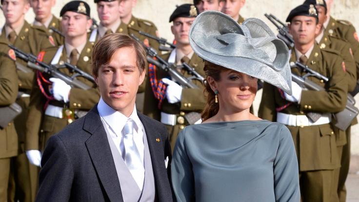 Damals noch glücklich: Prinz Louis und Prinzessin Tessy von Luxemburg. (Foto)