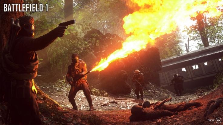 Im Mehrspieler scheinen die Gräuel des Krieges jedoch wie weggeblasen. Hier geht es einzig und allein um die Action. (Foto)