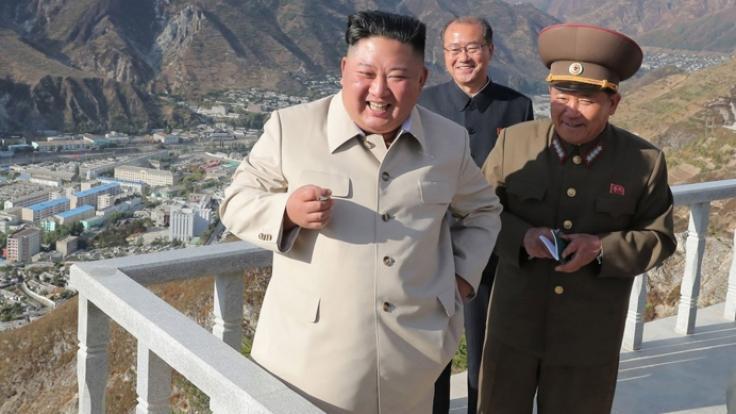 Kim Jong-un ist wieder aufgetaucht.