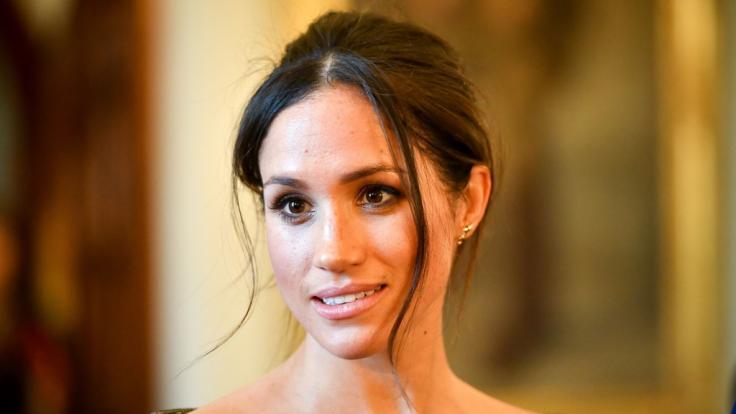 Meghan Markle ließ sich offenbar von Kate Middletons Brautkleid inspirieren. (Foto)