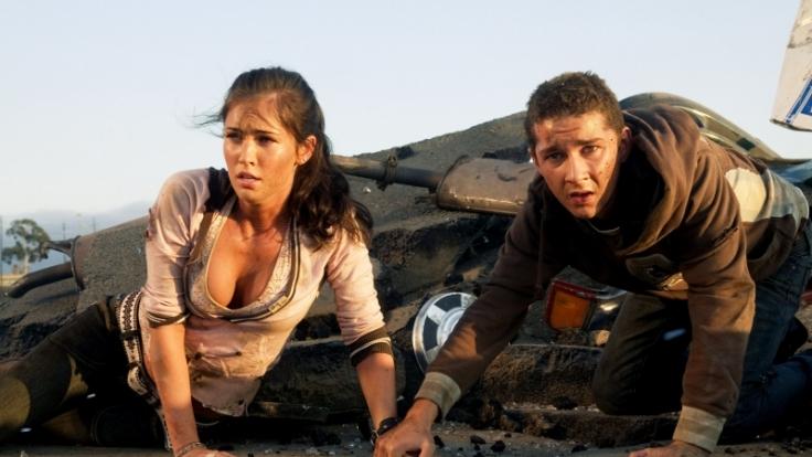 Megan Fox prägte mit ihrem sexy Auftritt in Transformers einen der erotischen Momente des Jahres. (Foto)