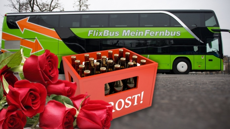 FlixBus und MeinFernbus können Dank des Bahnstreiks steigende Umsätze verzeichnen. (Foto)