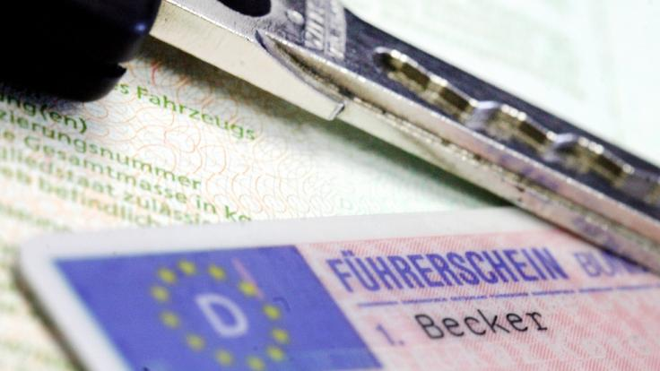 43 Millionen Füherschein-Besitzer müssen ihren Führerschein umtauschen lassen (Symbolbild).