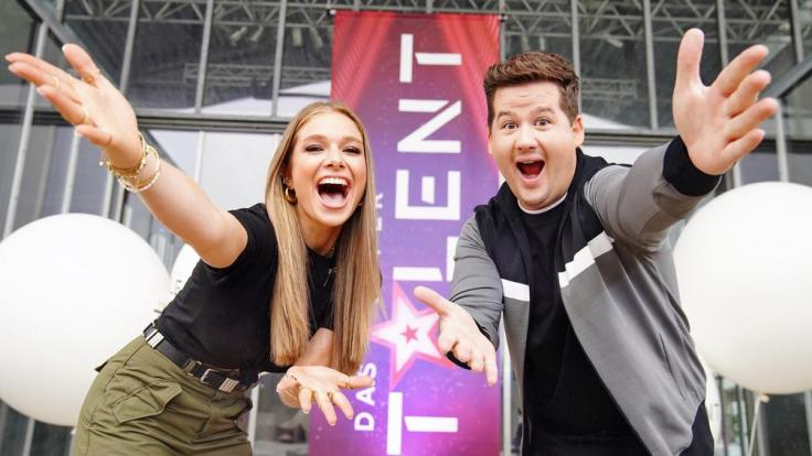 """Lola Weippert und Chris Tall moderieren die kommende Staffel von """"Das Supertalent"""" (Foto)"""